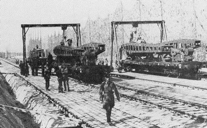 Cañón ferroviario Dora Schwerer Gustav railway gun Bajchisarai